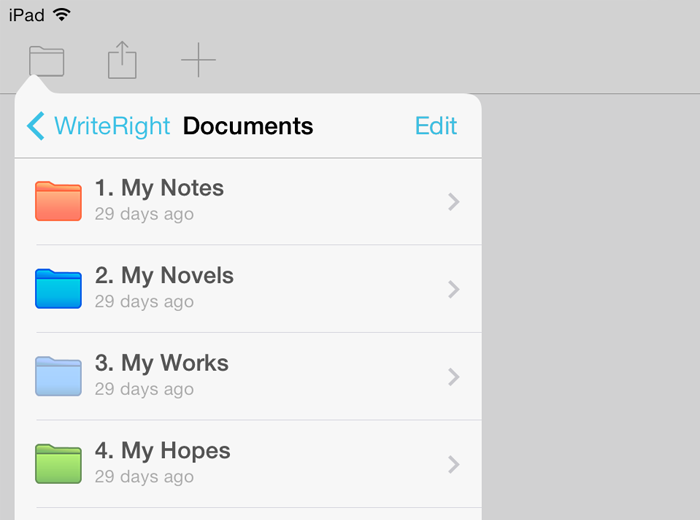 WriteRight is an editing instrument